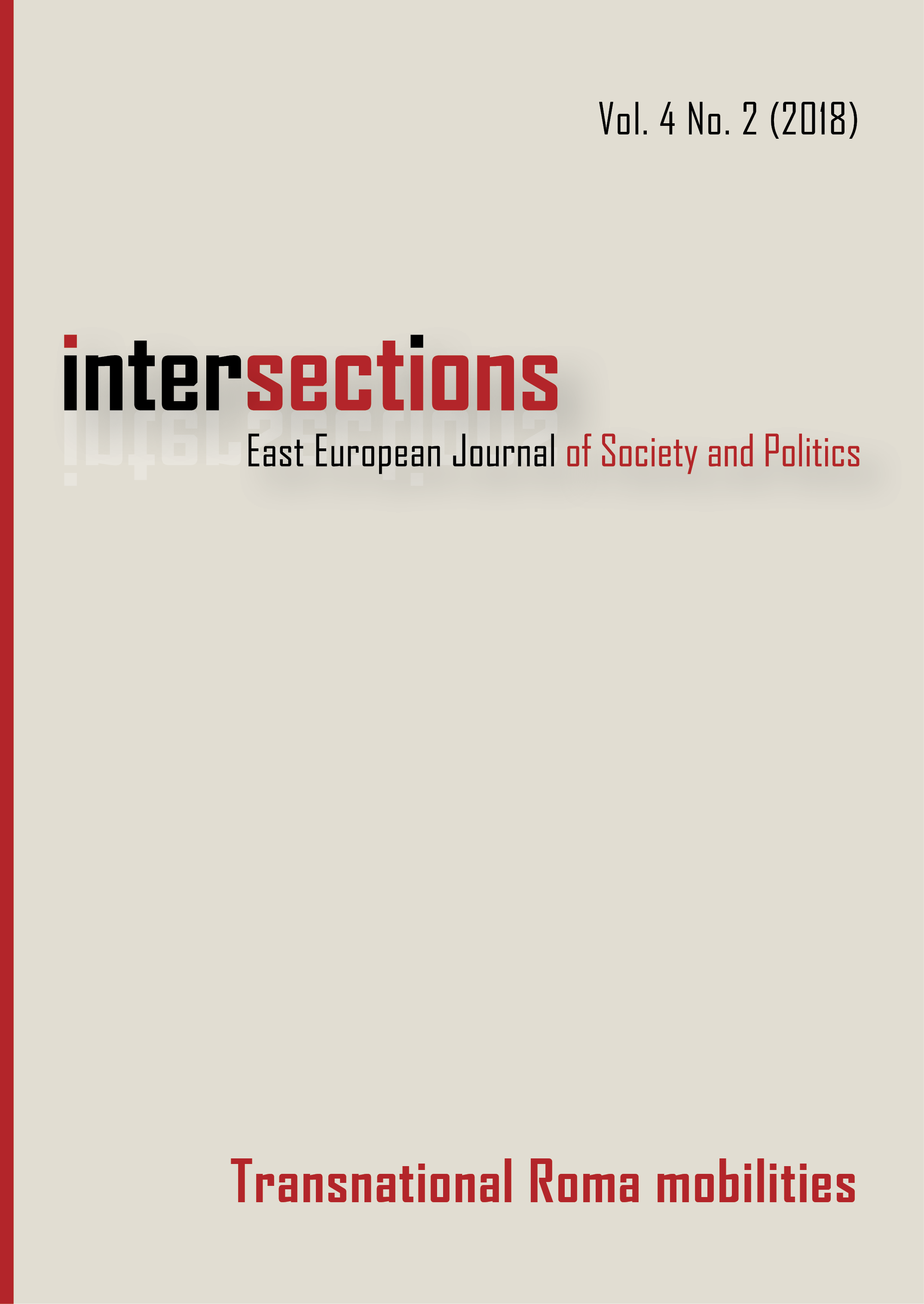View Vol. 4 No. 2 (2018): Transnational Roma Mobilities
