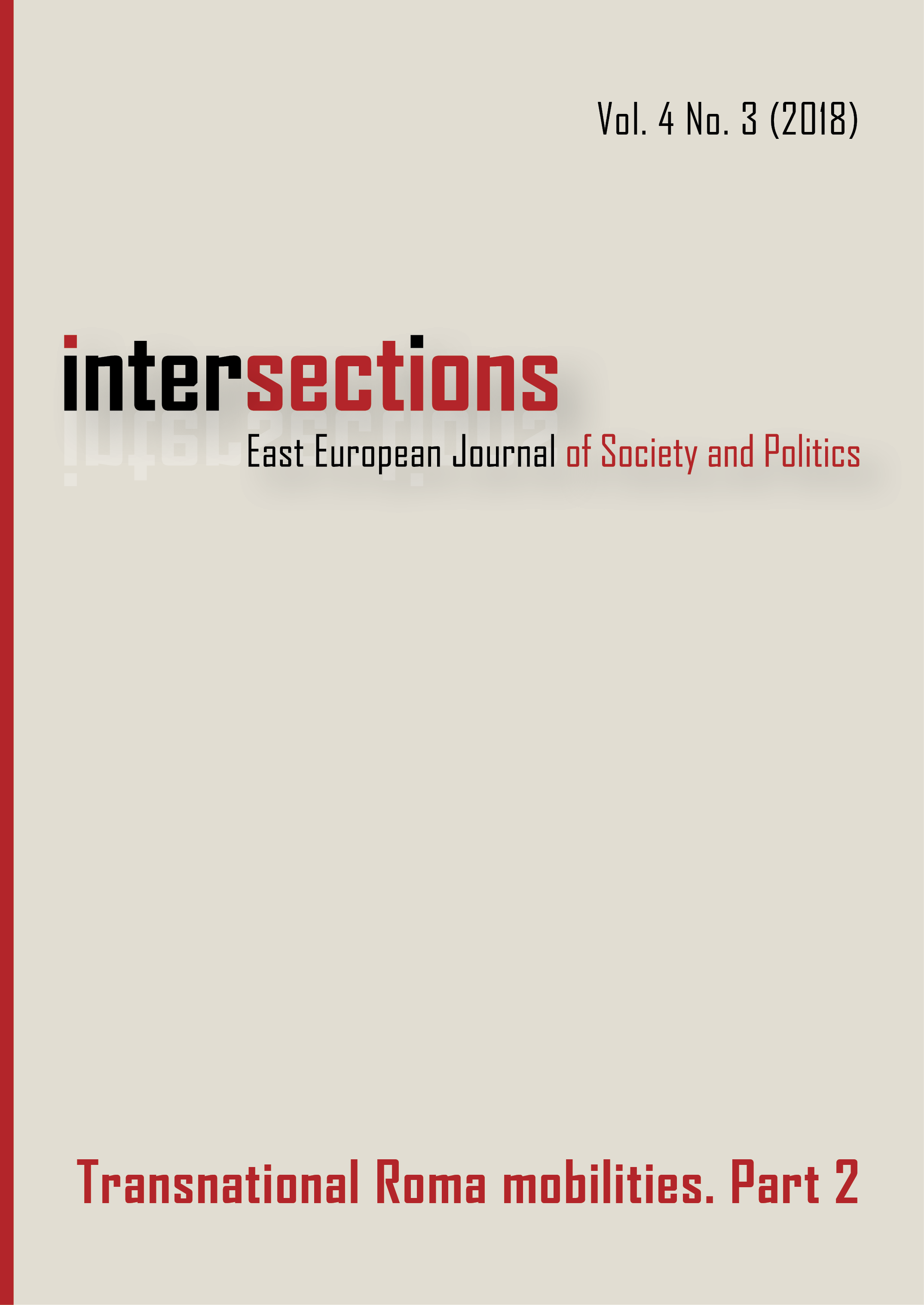 View Vol. 4 No. 3 (2018): Transnational Roma Mobilities. Part 2.